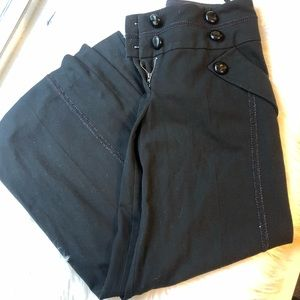 Taikonku Anthropologie sailor wide legged pants